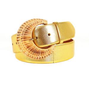 RALPH LAUREN $300 Black Label Gold Belt 410181979